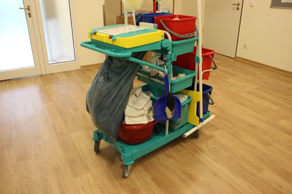 matériel de propreté pour un nettoyage de locaux professionnel de qualité paris