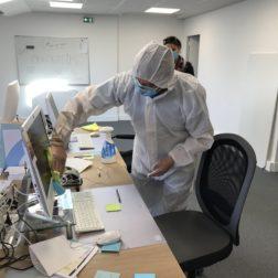entreprise de nettoyage et décontamination des bureaux à Paris